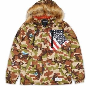 🆕️Major sale Camo Aviation Puffer Jacket M,L,XL